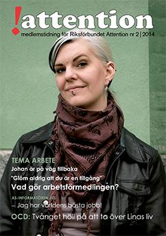 Tidningen Attention Nr 2 2014