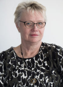 Vår ordförande Anki Sandberg.