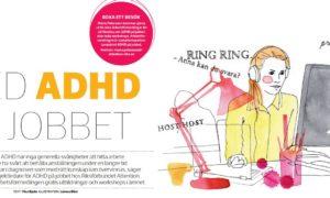 ADHD på jobbet hos Arbetsförmedlingen
