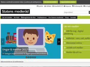Statens medieråds rapport om barns nätanvändning 2017