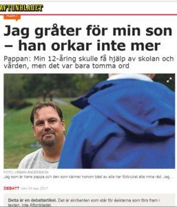 bild på en artikel från Aftonbladet