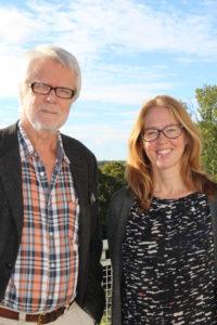 Leif Strandberg och Annica Nilsson